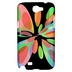 Colorful abstract flower Samsung Galaxy Note 2 Hardshell Case
