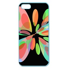 Colorful abstract flower Apple Seamless iPhone 5 Case (Color)