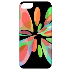 Colorful abstract flower Apple iPhone 5 Classic Hardshell Case