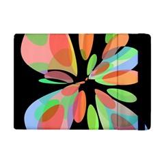 Colorful abstract flower Apple iPad Mini Flip Case