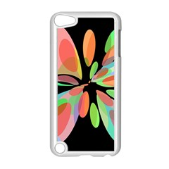 Colorful abstract flower Apple iPod Touch 5 Case (White)