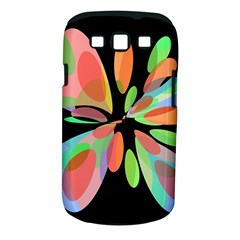 Colorful abstract flower Samsung Galaxy S III Classic Hardshell Case (PC+Silicone)