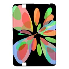 Colorful abstract flower Kindle Fire HD 8.9