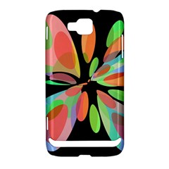 Colorful abstract flower Samsung Ativ S i8750 Hardshell Case