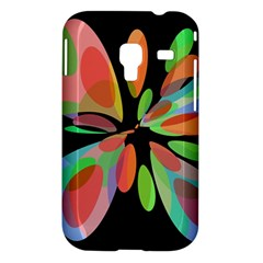 Colorful abstract flower Samsung Galaxy Ace Plus S7500 Hardshell Case