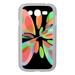 Colorful abstract flower Samsung Galaxy Grand DUOS I9082 Case (White)