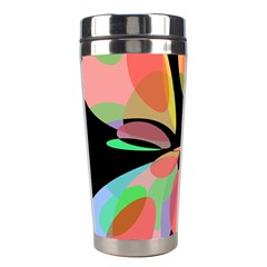 Colorful abstract flower Stainless Steel Travel Tumblers