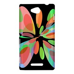 Colorful abstract flower Sony Xperia C (S39H)