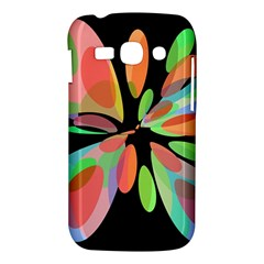 Colorful abstract flower Samsung Galaxy Ace 3 S7272 Hardshell Case