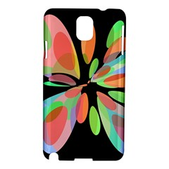 Colorful abstract flower Samsung Galaxy Note 3 N9005 Hardshell Case