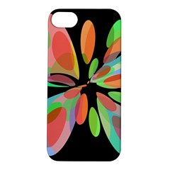 Colorful abstract flower Apple iPhone 5S/ SE Hardshell Case