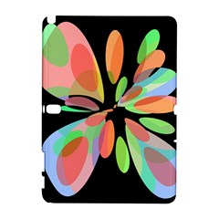 Colorful abstract flower Samsung Galaxy Note 10.1 (P600) Hardshell Case