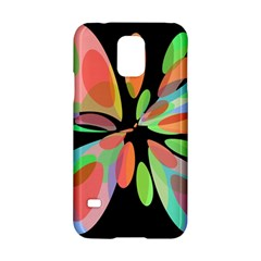 Colorful abstract flower Samsung Galaxy S5 Hardshell Case