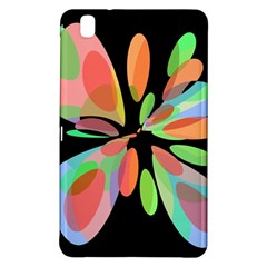 Colorful abstract flower Samsung Galaxy Tab Pro 8.4 Hardshell Case