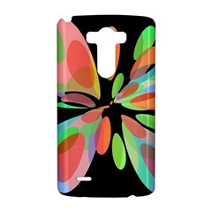 Colorful abstract flower LG G3 Hardshell Case