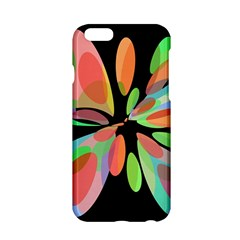 Colorful abstract flower Apple iPhone 6/6S Hardshell Case