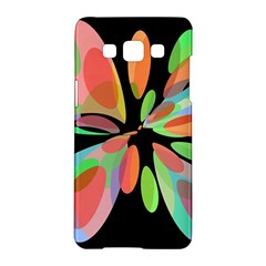 Colorful abstract flower Samsung Galaxy A5 Hardshell Case