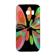 Colorful abstract flower Galaxy S6 Edge