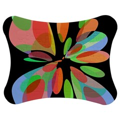 Colorful abstract flower Jigsaw Puzzle Photo Stand (Bow)
