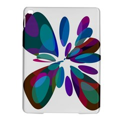 Blue abstract flower iPad Air 2 Hardshell Cases