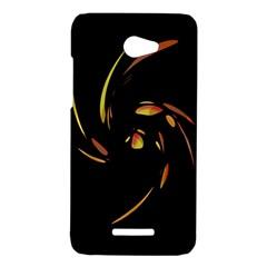 Orange twist HTC Butterfly X920E Hardshell Case