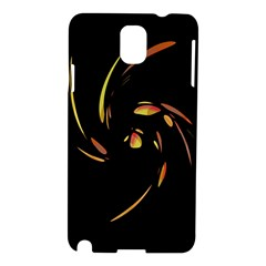 Orange twist Samsung Galaxy Note 3 N9005 Hardshell Case