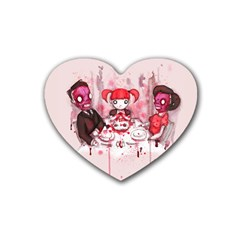 Give Us This Day Heart Coaster (4 pack)