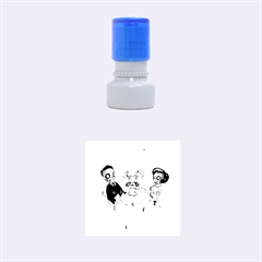 Give Us This Day Rubber Round Stamps (Small)