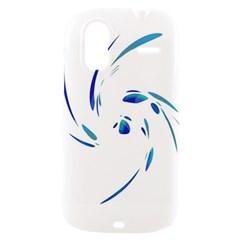 Blue twist HTC Amaze 4G Hardshell Case