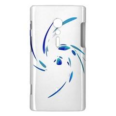 Blue twist Sony Xperia ion