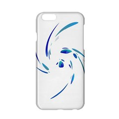 Blue twist Apple iPhone 6/6S Hardshell Case