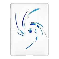 Blue twist Samsung Galaxy Tab S (10.5 ) Hardshell Case