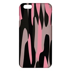 pink and black camouflage abstract iPhone 6 Plus/6S Plus TPU Case