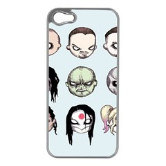 Worst Heroes Ever Apple iPhone 5 Case (Silver)