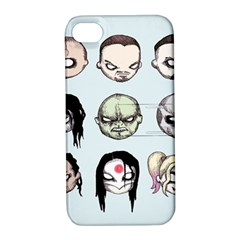 Worst Heroes Ever Apple iPhone 4/4S Hardshell Case with Stand