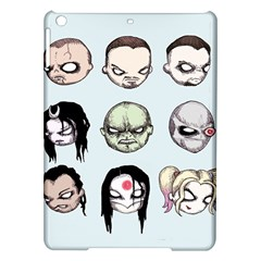 Worst Heroes Ever iPad Air Hardshell Cases