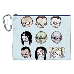 Worst Heroes Ever Canvas Cosmetic Bag (XXL)