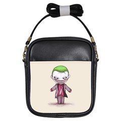Suicide Clown Girls Sling Bags
