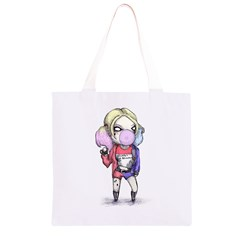 Suicide Harley Grocery Light Tote Bag