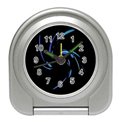 Blue twist Travel Alarm Clocks