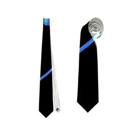 Blue twist Neckties (Two Side)