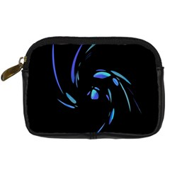 Blue twist Digital Camera Cases