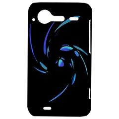 Blue twist HTC Incredible S Hardshell Case