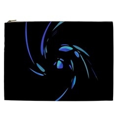Blue twist Cosmetic Bag (XXL)