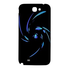 Blue twist Samsung Note 2 N7100 Hardshell Back Case