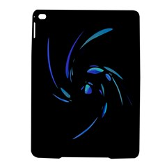 Blue twist iPad Air 2 Hardshell Cases