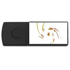 Orange twist USB Flash Drive Rectangular (4 GB)