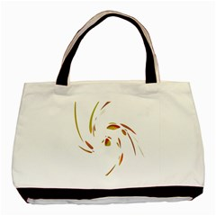 Orange twist Basic Tote Bag
