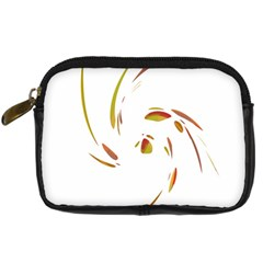 Orange twist Digital Camera Cases