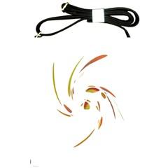 Orange twist Shoulder Sling Bags